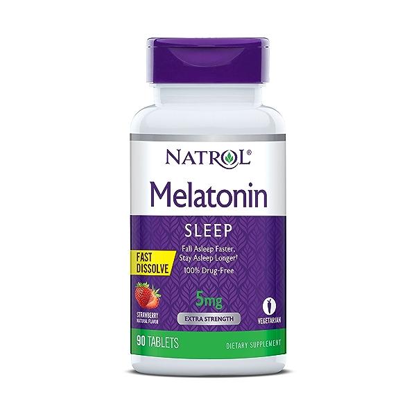 Melatonin Sleep 5mg, 90 tablets 1