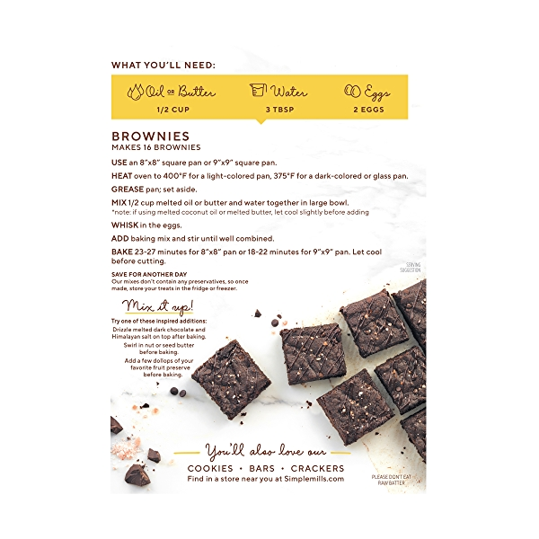 Brownie Mix, 12.9 oz 3