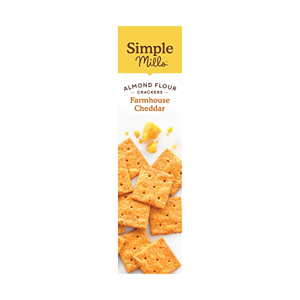 Farmhouse Cheddar Almond Flour Crackers, 4.25 oz 4