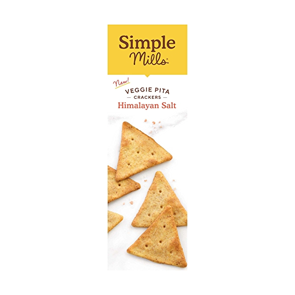 Himalayan Salt Veggie Pita Crackers, 4.25 oz 4