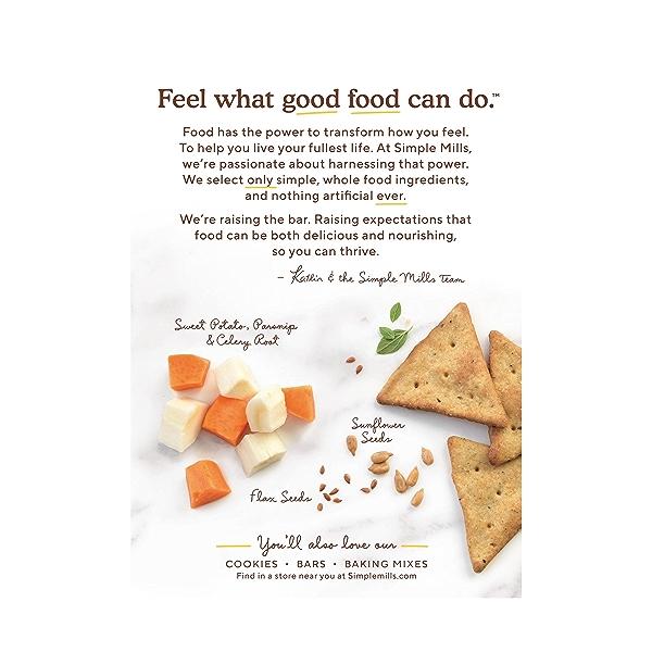 Mediterranean Herb Veggie Pita Crackers, 4.25 oz 3
