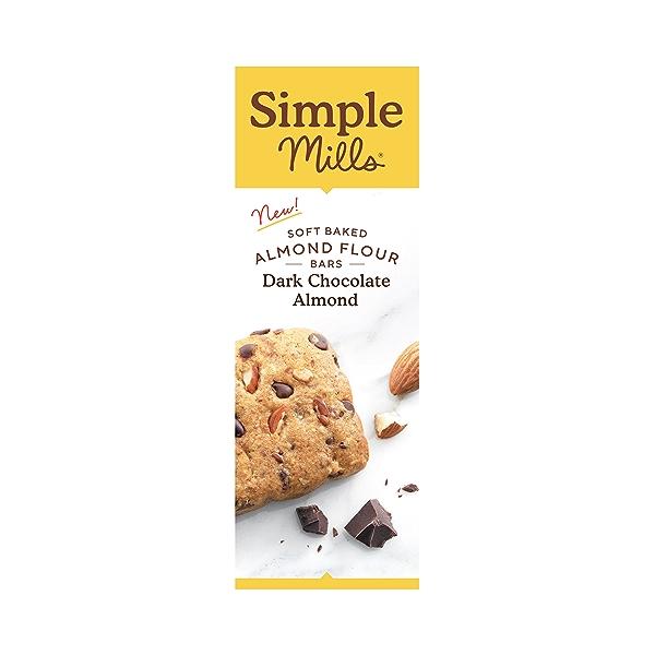 Dark Chocolate Almond Soft-baked Almond Flour Bars 5ct, 5.99 oz 4
