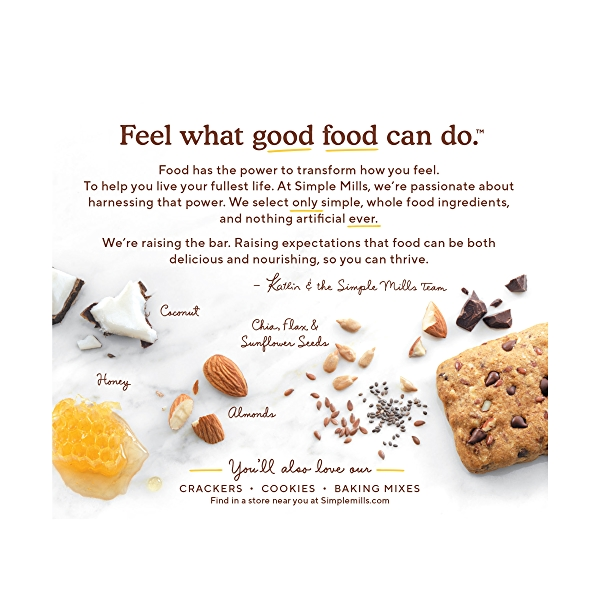 Dark Chocolate Almond Soft-baked Almond Flour Bars 5ct, 5.99 oz 3