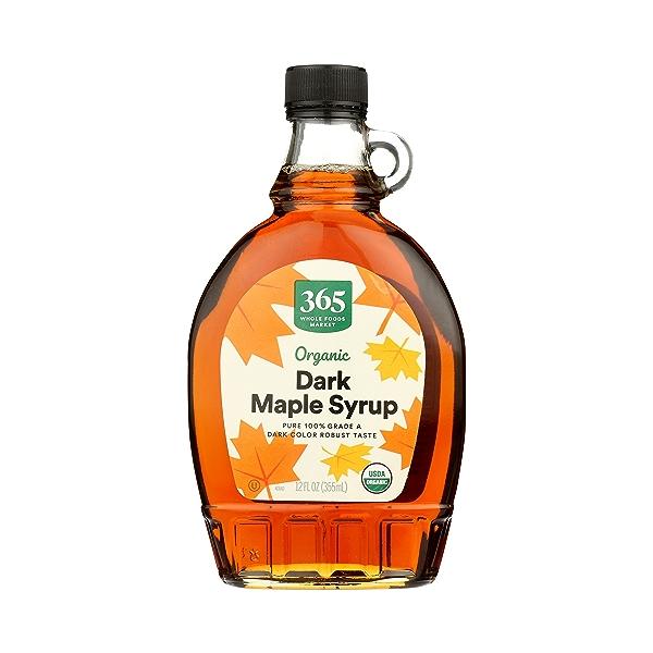 Organic Dark Maple Syrup, 12 fl oz 1