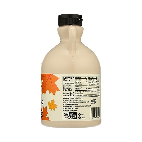 Organic Dark Maple Syrup, 32 fl oz 2