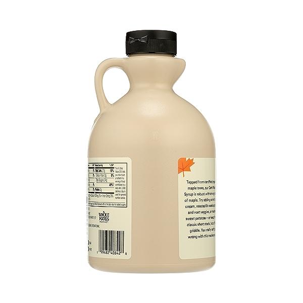 Organic Dark Maple Syrup, 32 fl oz 3