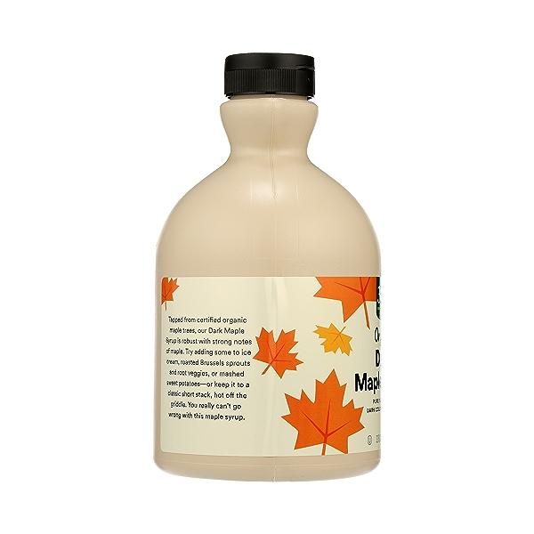 Organic Dark Maple Syrup, 32 fl oz 4