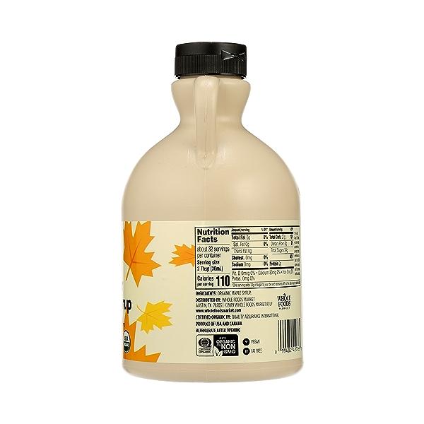 Organic Amber Maple Syrup, 32 fl oz 2