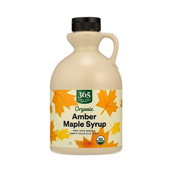Organic Amber Maple Syrup, 32 fl oz 1