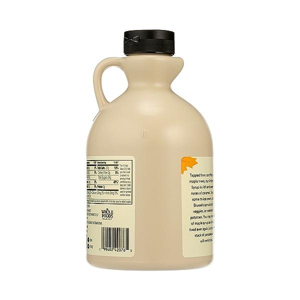 Organic Amber Maple Syrup, 32 fl oz 3