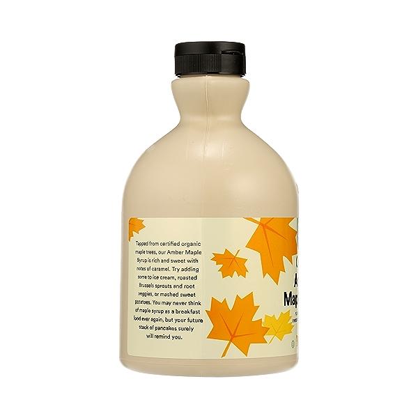 Organic Amber Maple Syrup, 32 fl oz 4