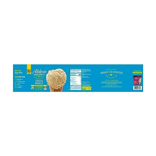 Organic French Vanilla Ice Cream, 1.5 qts 2