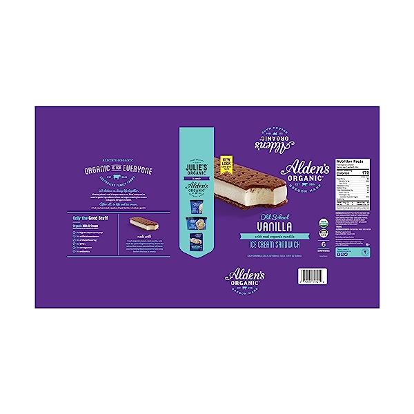 Old School Vanilla Ice Cream Sandwich, 21.9 fl oz 2