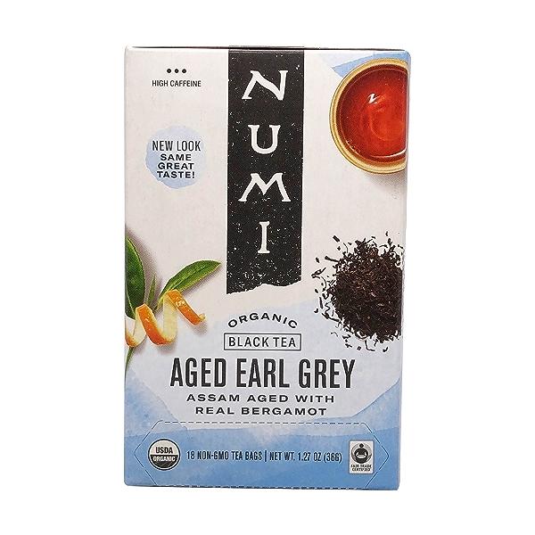 Organic Aged Earl Grey Black Assam Tea, 1.27 oz 1