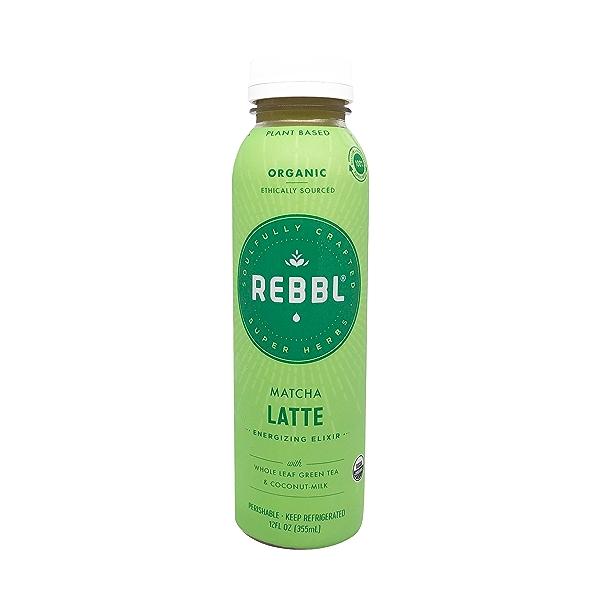 Organic Matcha Latte Super Herb Elixir, 12 fl oz 1