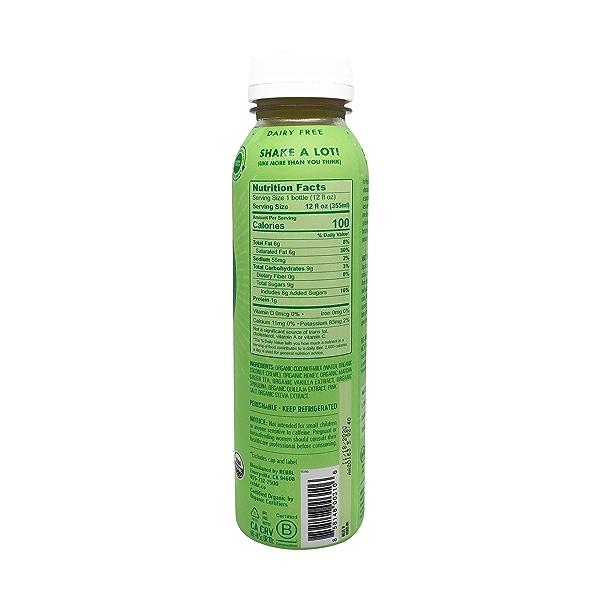 Organic Matcha Latte Super Herb Elixir, 12 fl oz 2