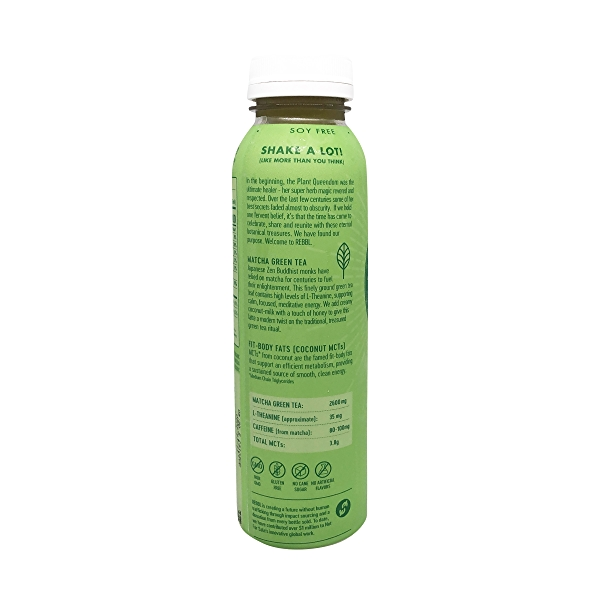 Organic Matcha Latte Super Herb Elixir, 12 fl oz 3