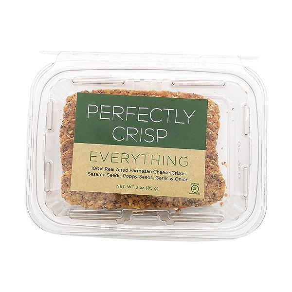 Perfectly Crisp Everything Parmesan Crisps, 3 oz 1