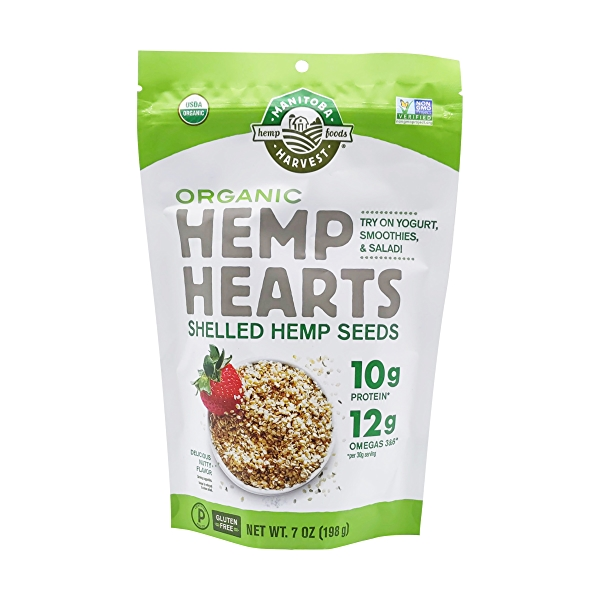 Raw Shelled Hemp Seeds, 7 oz 1