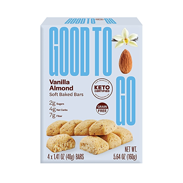 Vanilla Almond Soft Baked Bar, 5.64 oz 1