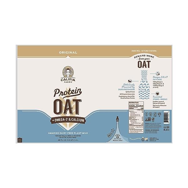 Protein Oat Original, 48 fl oz 4