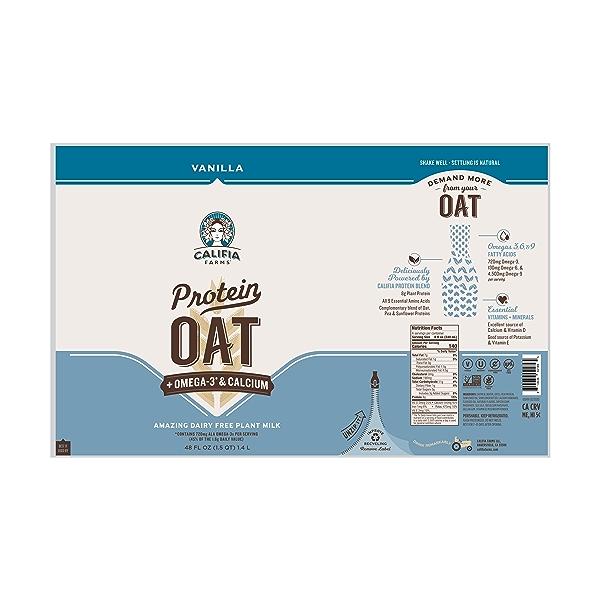 Protein Oat Vanilla, 48 fl oz 4