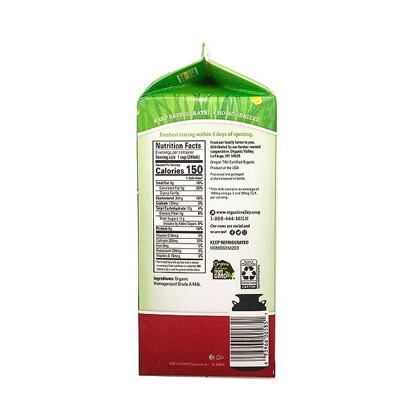 Organic Whole Milk Grassmilk 2