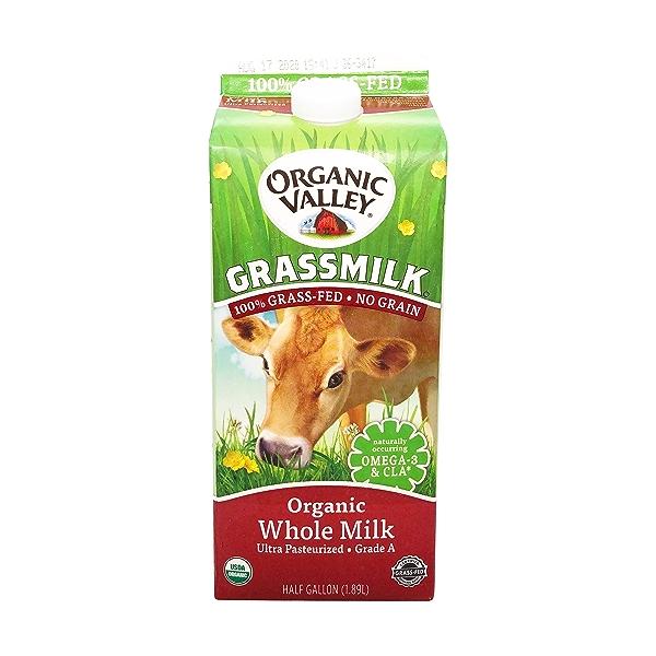 Organic Whole Milk Grassmilk 1
