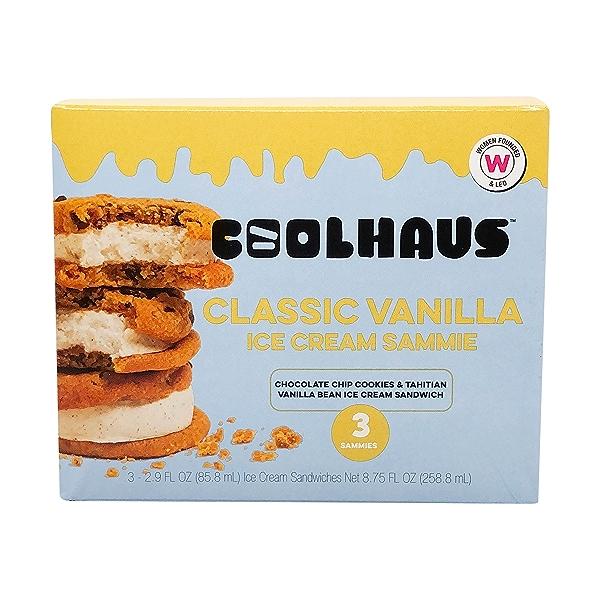 Classic Vanilla Ice Cream Sammies, 8.75 fl oz 1