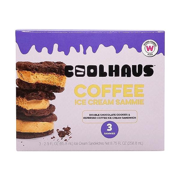 Coffee Ice Cream Sammies, 8.75 fl oz 1