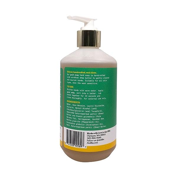 Good Soap Eucalyptus Mint Hand Soap, 12 fl oz 3