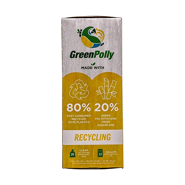 Clear Recycling Bags 20 Count 2