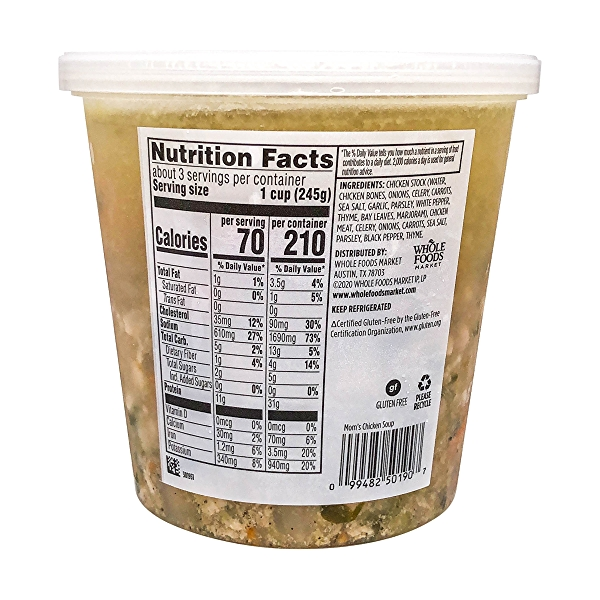 Mom's Chicken Soup, 24 oz 3