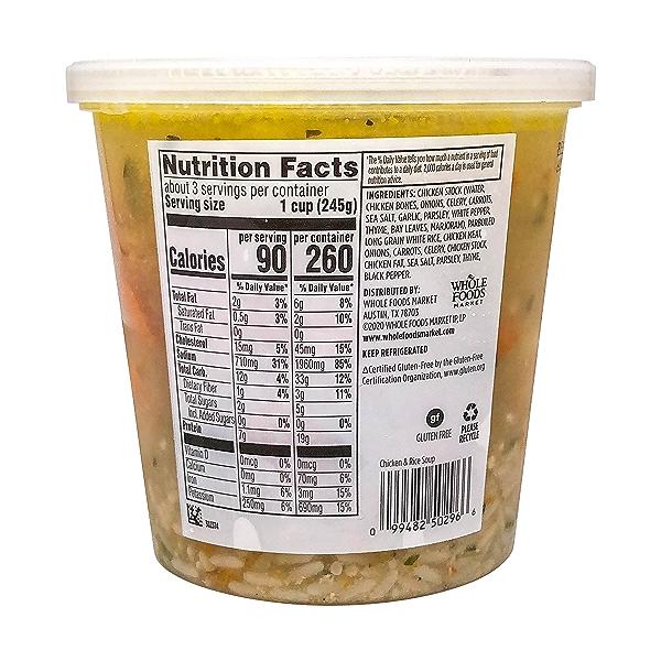 Chicken & Rice Soup, 24 oz 2