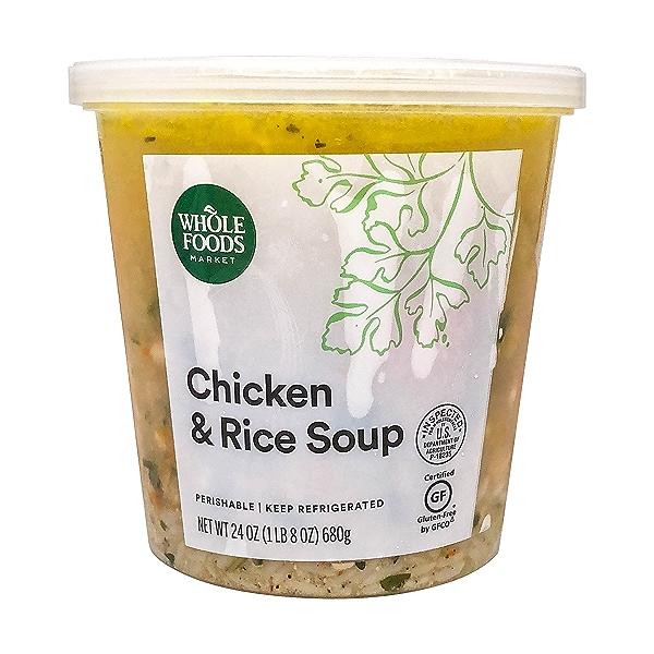 Chicken & Rice Soup, 24 oz 1