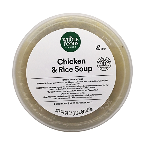 Chicken & Rice Soup, 24 oz 3