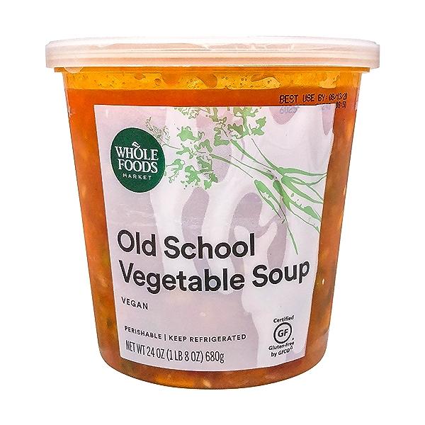 Old School Vegetable Soup, 24 oz 1