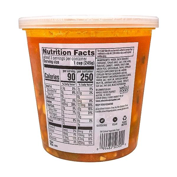Old School Vegetable Soup, 24 oz 2