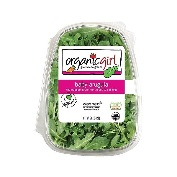 Baby Arugula, Salad 1