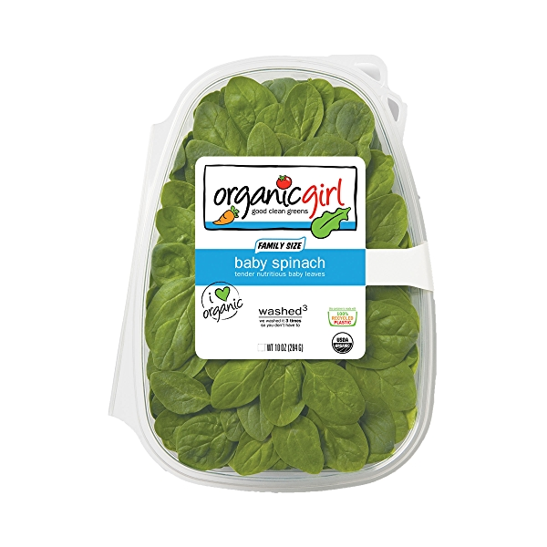 Baby Spinach, Salad 1
