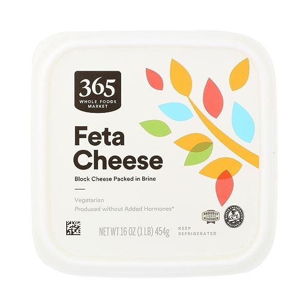 Block Cheese Packed In Brine Feta Cheese, 16 oz 1