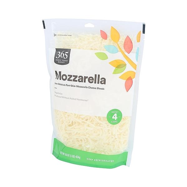 Part-skim Shredded Mozzarella Cheese 4