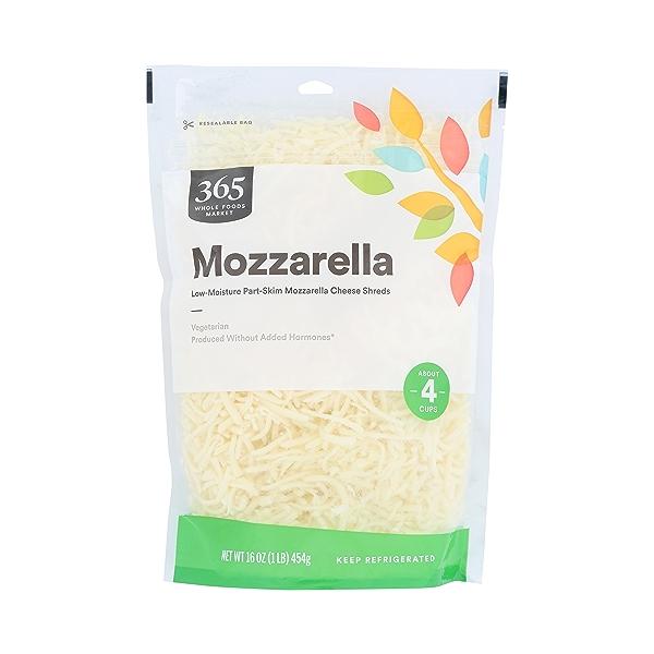 Part-skim Shredded Mozzarella Cheese 3
