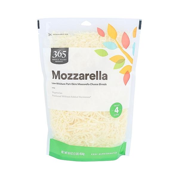 Part-skim Shredded Mozzarella Cheese 1