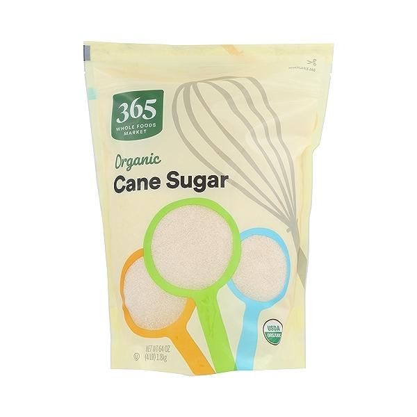 Organic Cane Sugar, 64 oz 1