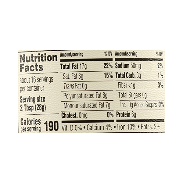 Organic Tahini, 16 oz 7