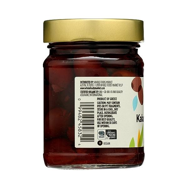 Organic Kalamata Pitted Olives, 4.6 oz 2