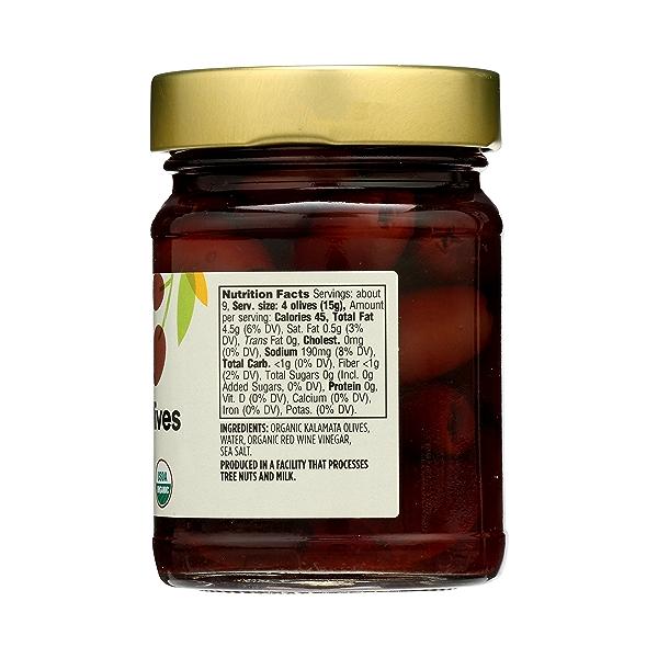 Organic Kalamata Pitted Olives, 4.6 oz 5
