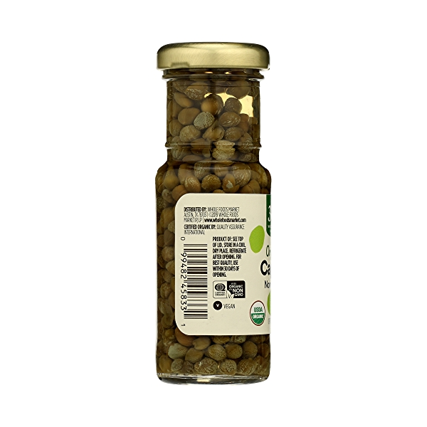 Organic Non-pareil Capers, 2 oz 2