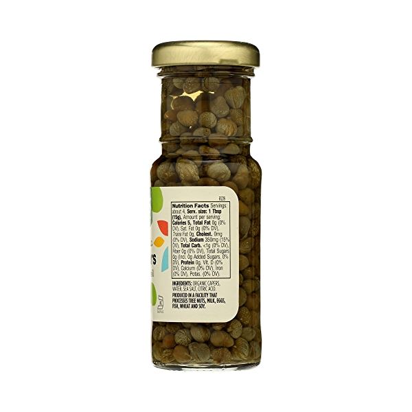 Organic Non-pareil Capers, 2 oz 5
